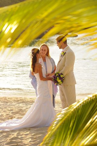 Beach Wedding on St. John