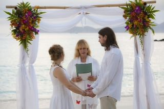 A St. John Wedding